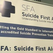 Suicide First Aid Launch, By Jane McNeice