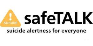 safeTALK, suicide prevention, mental health, training