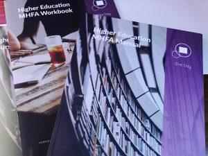 mhfa higher education, university, mental health