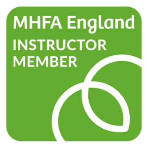 MHFA, mental health, mental health first aid, logo, member, training