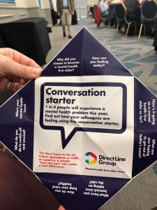 MHFA, tool, conversation starter