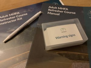 MHFA, mental health first aider, mental health, training, refresher